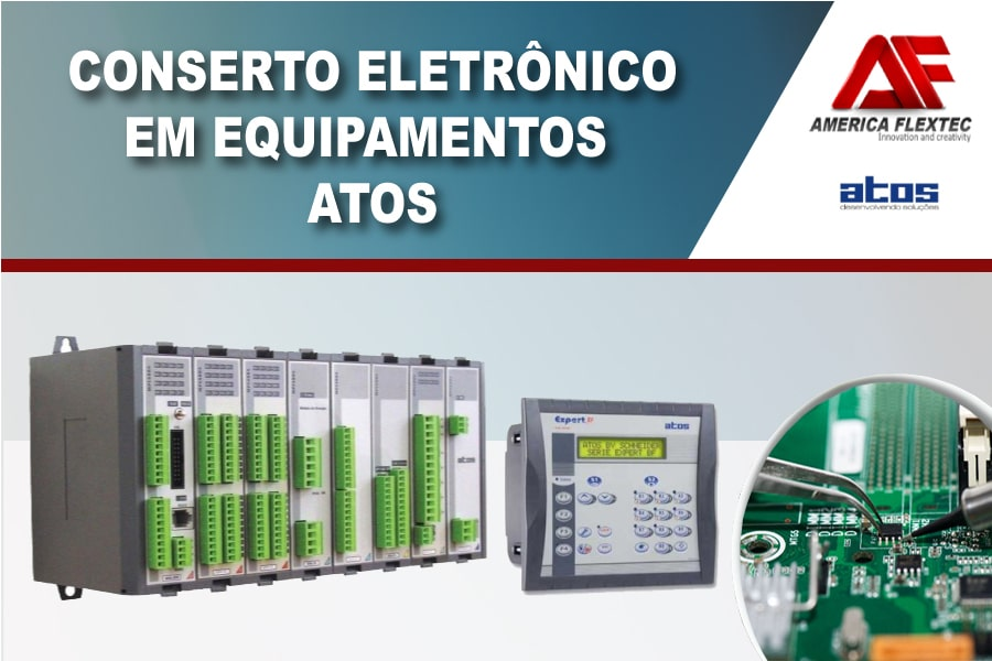 Reparo de equipamentos ATOS