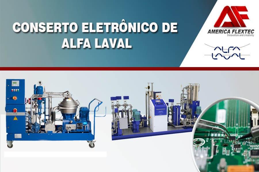Reparo de Equipamentos ALFA LAVAL