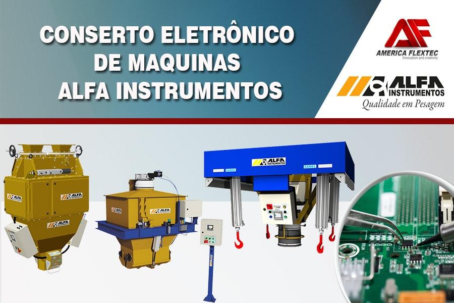 Reparo de Equipamentos ALFA Instrumentos