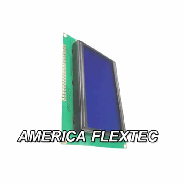 Display LCD 240×64 ST7920 Backlight Azul Máquina CNC