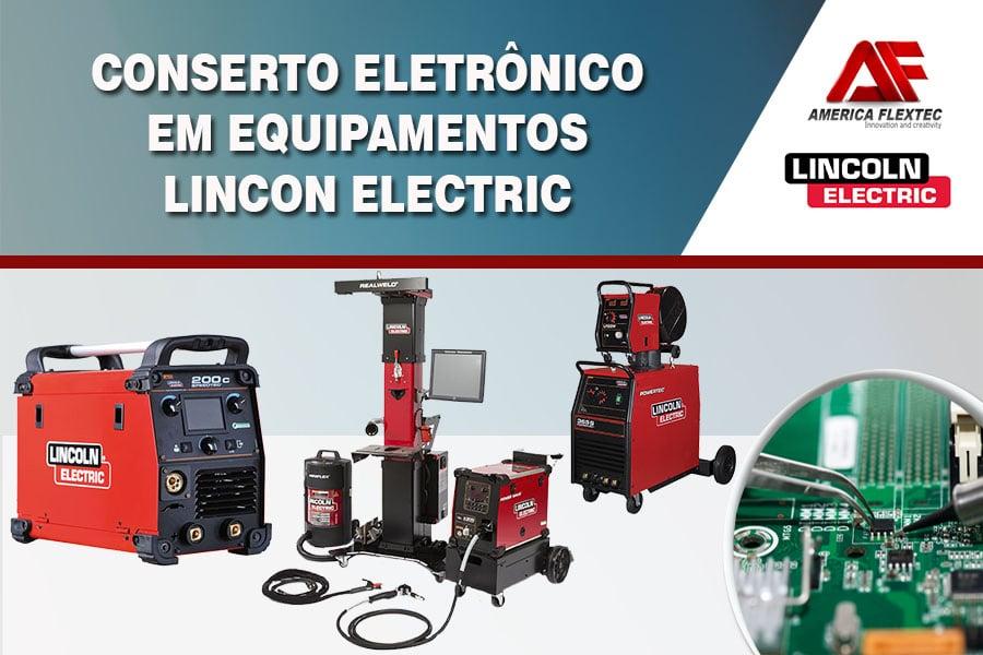 Reparo de Equipamentos LINCON ELECTRIC