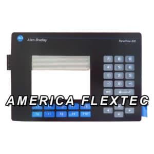 Teclado Membrana Allen-Bradley Panelview 600