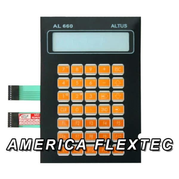 Teclado Membrana Altus Modelo AL660