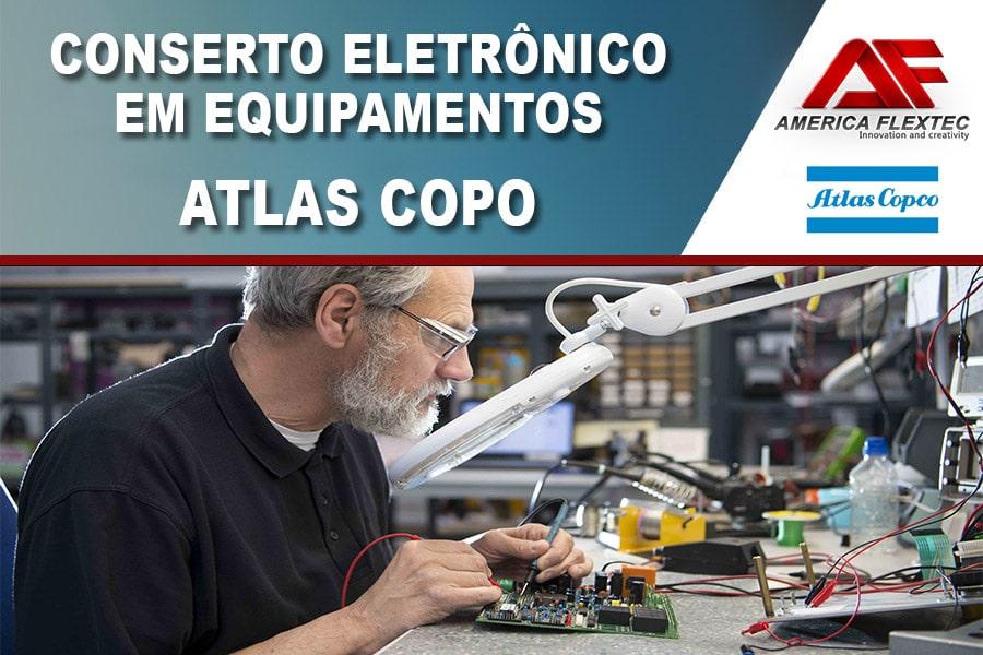 Reparo de Equipamentos Atlas Copco