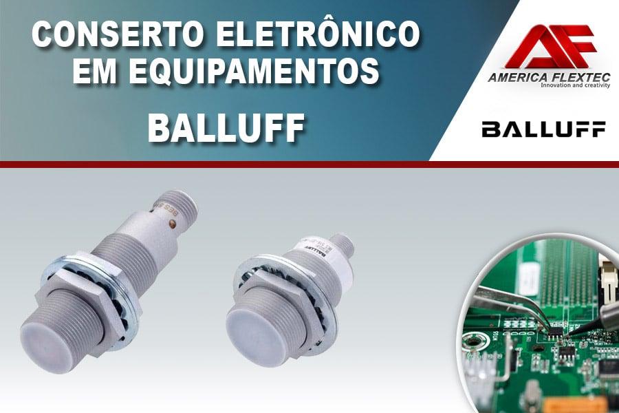 Reparo de Equipamentos Balluff