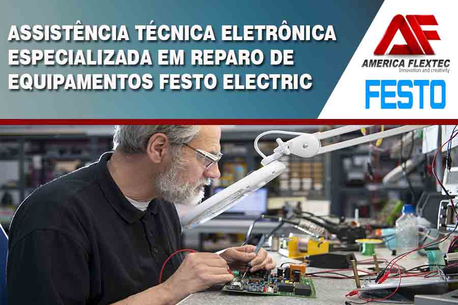 Reparo de Equipamentos Festo Electric