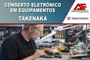 Reparo de Equipamentos Takenaka