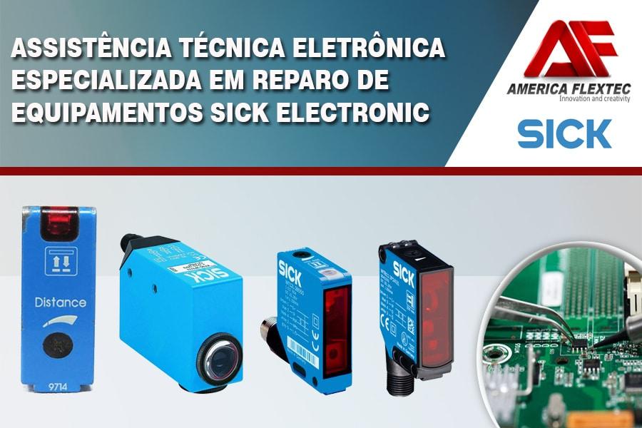 Reparo de Equipamentos Sick Optic Electronic