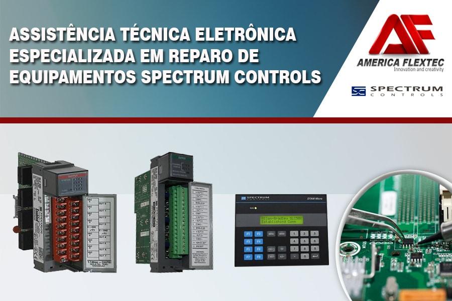 Reparo de Equipamentos Spectrum Controls