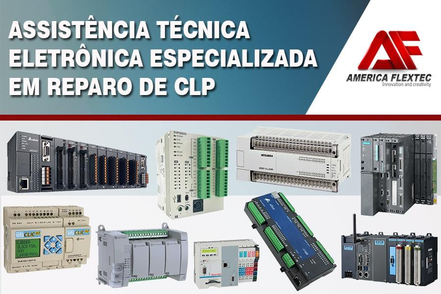 Manutenção, Conserto, Reparo e Venda de CLP