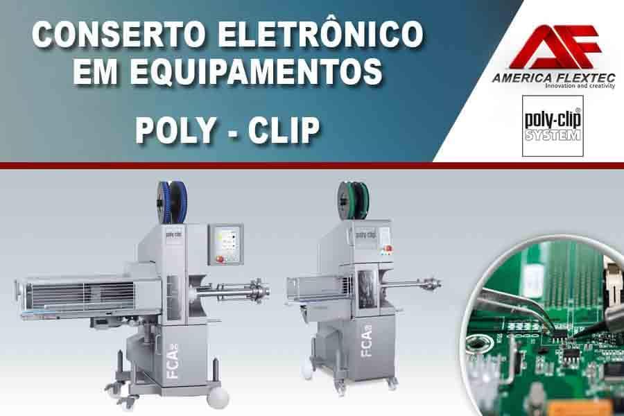 Reparo de Equipamentos Poly-Clip