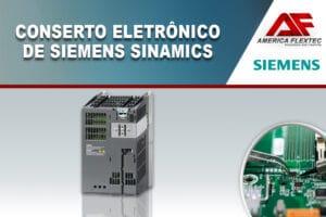 Reparo de Siemens Sinamics
